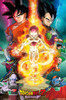 Dragonball Z - Resurrection F - Mounted Wall Hanger Picture