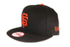 San Francisco Giants New Era 9FIFTY MLB Black Snapback Hat