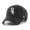 Chicago White Sox MVP Black 47Brand MLB Velcro Strapback Hat