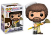 The Joy Of Painting - Bob Ross with Paintbrush Pop! Vinyl Figure