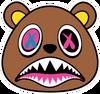 BAWS Bear OG Logo Black T-Shirt