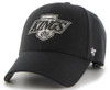 Los Angeles Kings 47Brand NHL Black Velco Strapback