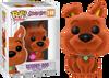 Scooby Doo - Scooby Doo Orange Flocked US Exclusive Pop! Vinyl Figure