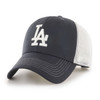 LA Dodgers Navy & White 47Brand MLB Strapback Mesh Hat