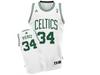 Boston Celtics Paul Pierce White Home Adidas Swingman Jersey