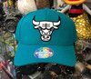 Chicago Bulls Teal Flex Mitchell & Ness Snapback Hat