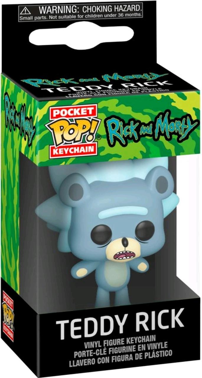 Pop Funko Pocket porte-clé Rick Rick and Morty