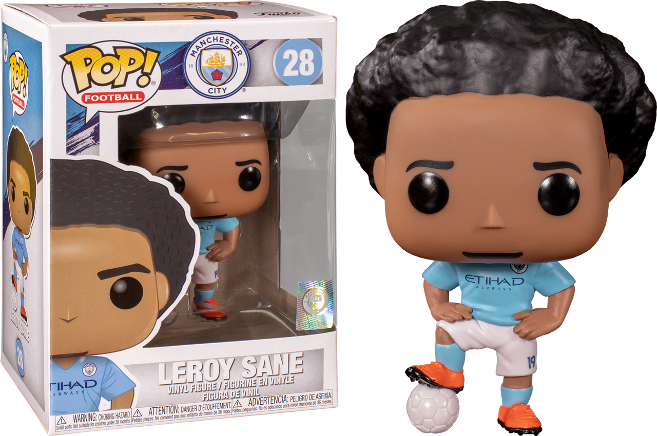 Sergio Aguero  *BRAND NEW* Football Vinyl Figure Manchester City Pop