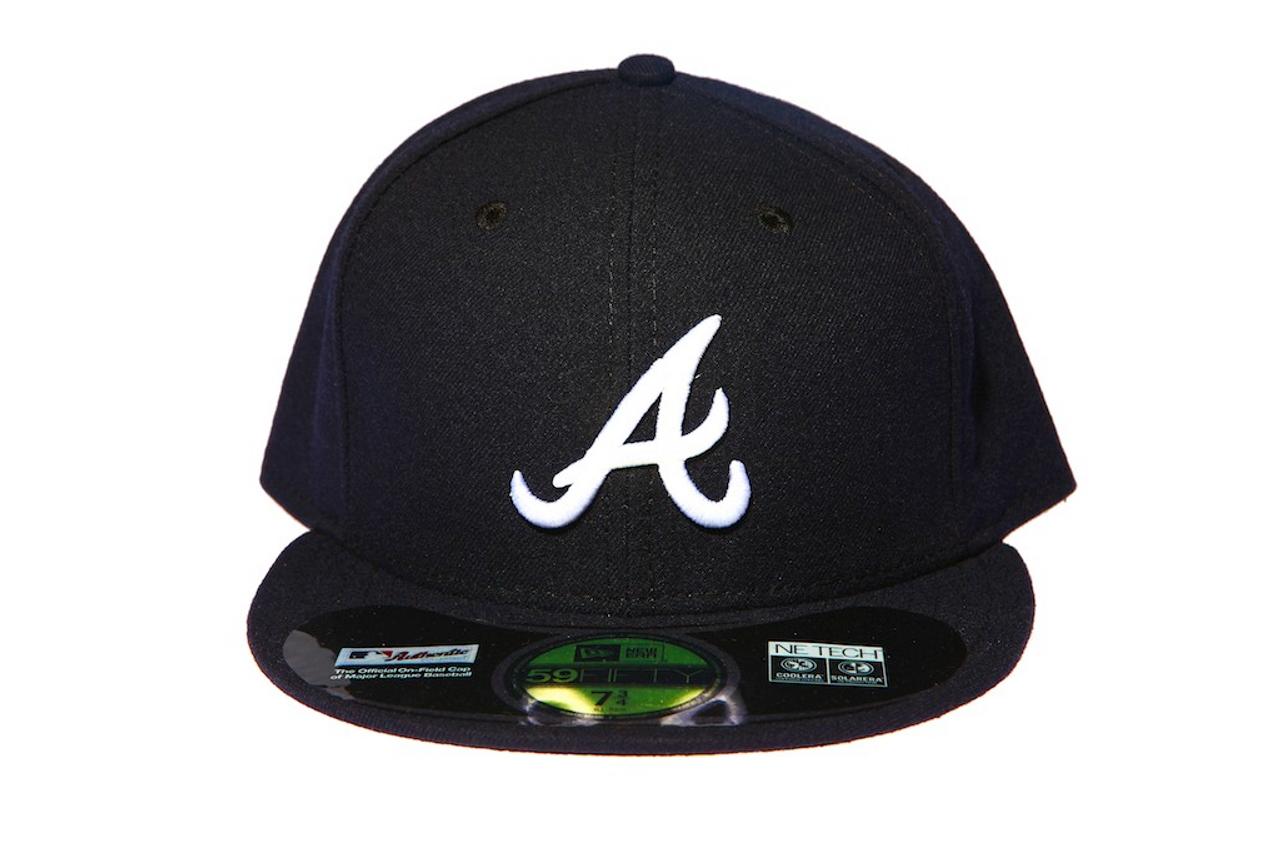 b58cf904a06 Atlanta Braves New Era Fitted Cap - KCT Streetwear New Zealand