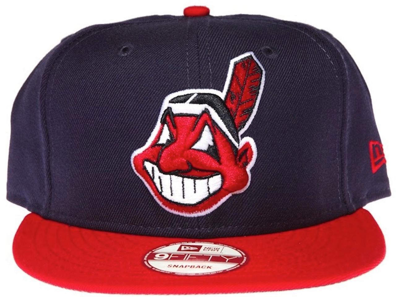 Cleveland Indians On Field New Era Snapback Hat - KCT Streetwear New ... 931f9a3810f6