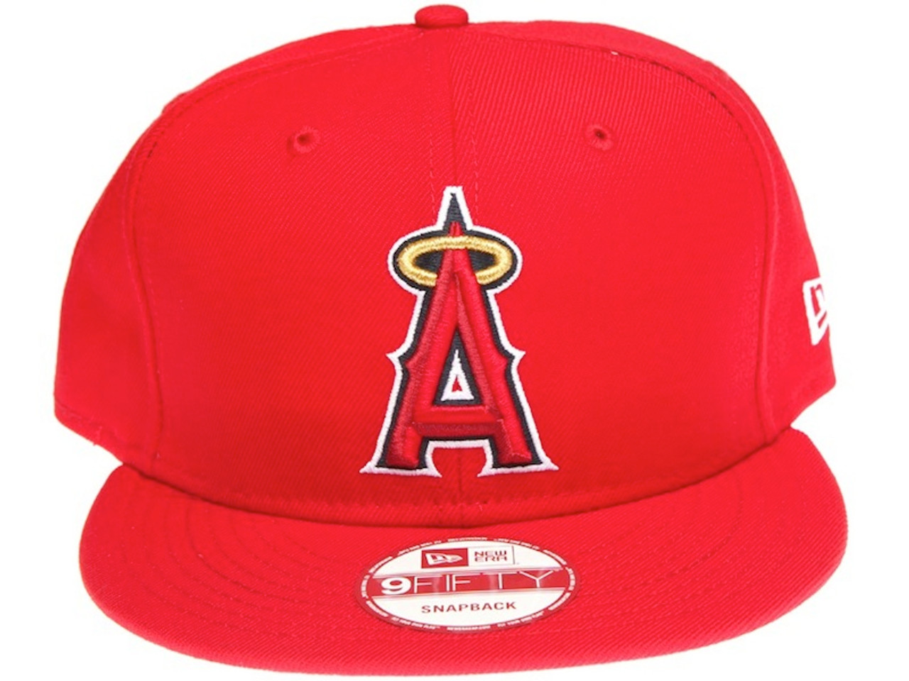 on sale 93c2b 1fe88 ... discount code for los angeles angels of anaheim on field new era red  snapback hat b8959