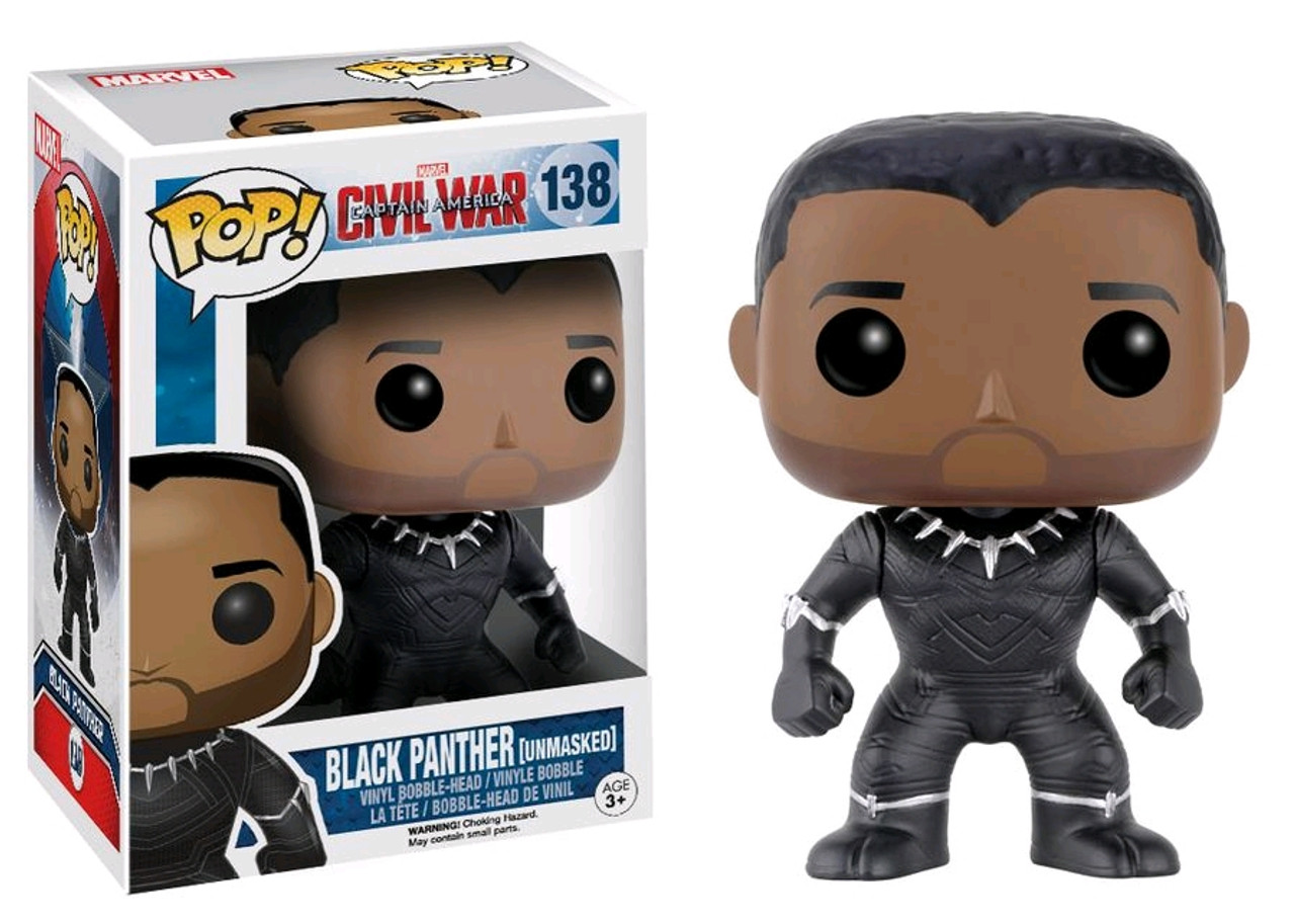 Black Panther Unmasked Us Exclusive Captain America 3 Civil War