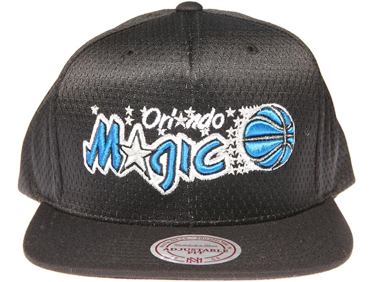 premium selection 575be df848 ... where to buy orlando magic logo mitchell ness nba black mesh snapback  hat 8de9c 0a963