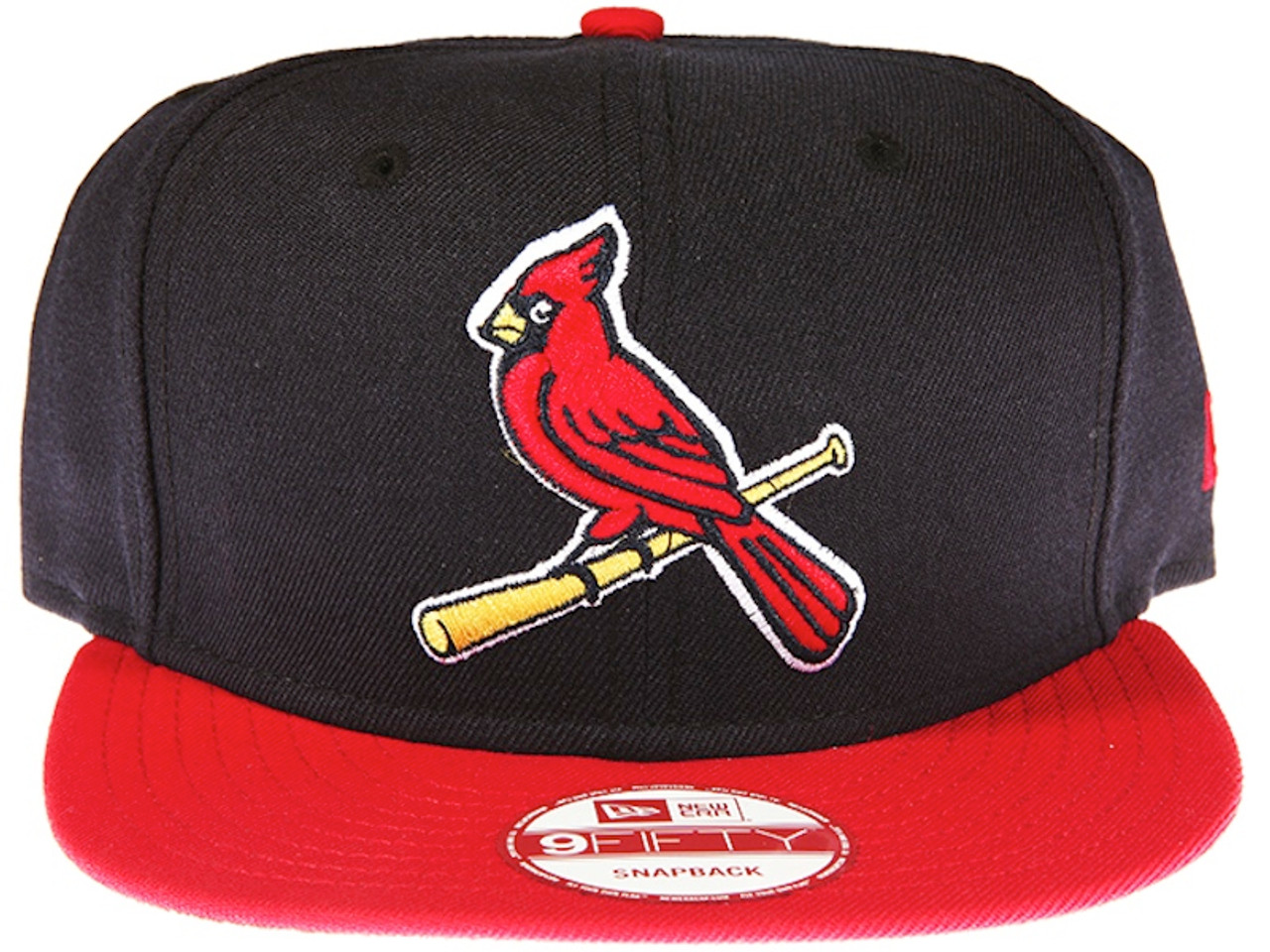 St. Louis Cardinals Alternate Logo New Era 9FIFTY MLB Blue and Red Snapback  Hat 883857c5f2e
