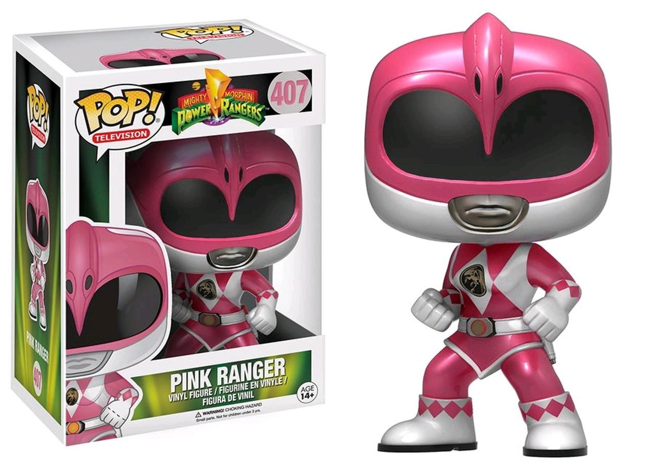80ddde316f6 Power Rangers - Pink Ranger Metallic US Exclusive Pop! Vinyl Figure. FUNKO  Pop! Vinyl