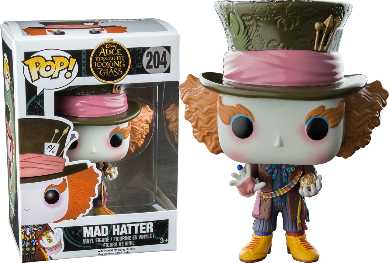 126f7cd46bc Alice Through The Looking Glass - Mad Hatter with Chronosphere US Exclusive  Pop! Vinyl Figure