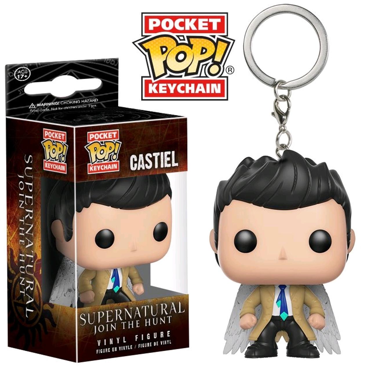 Supernatural - Castiel with Wings US Exclusive Pocket Pop
