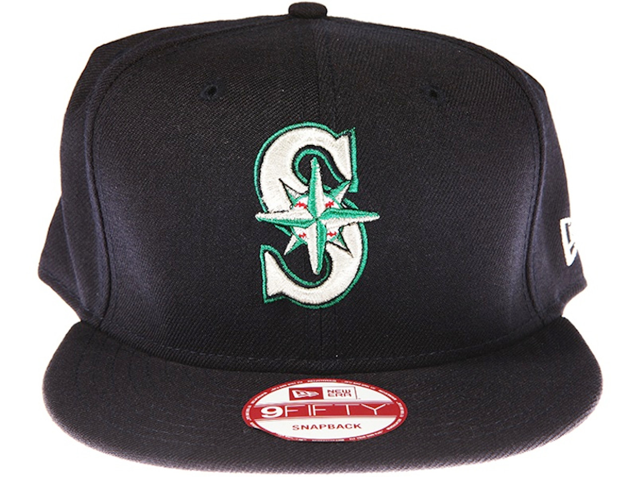Seattle Mariners Navy Blue New Era 9FIFTY MLB Snapback Hat 0401157b2d73