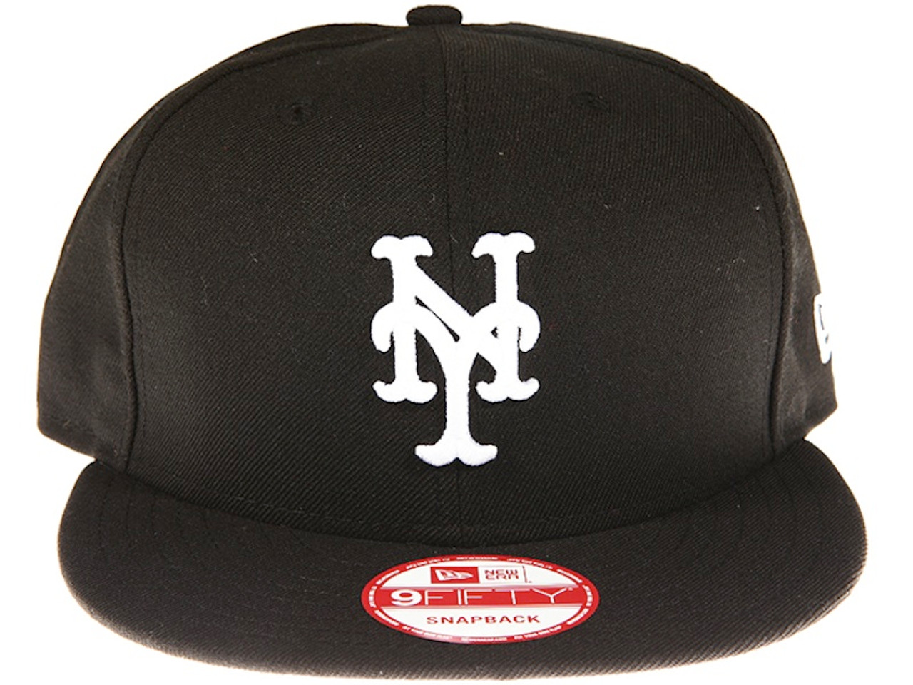 detailed look 74a84 26bc7 New York Mets Black New Era 9FIFTY MLB Snapback Hat