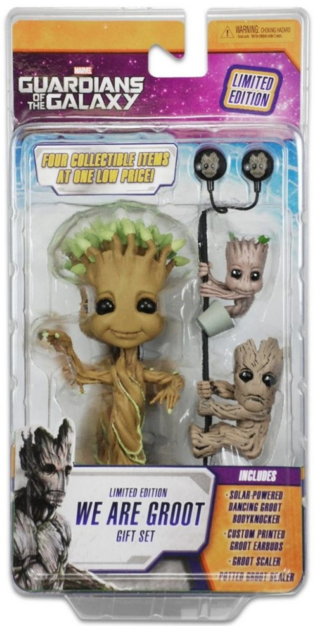 Dancing Groot Body Knocker Solar Powered Guardians Of The Galaxy