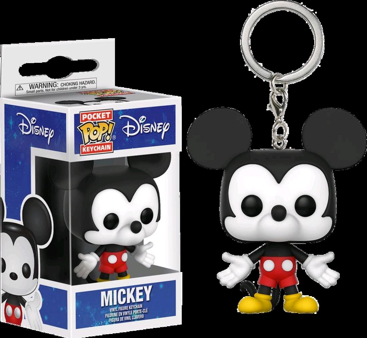 Mickey/'s 90th-POP KEYCHAIN 2 Brand New in Box Funko-Pop Keychain