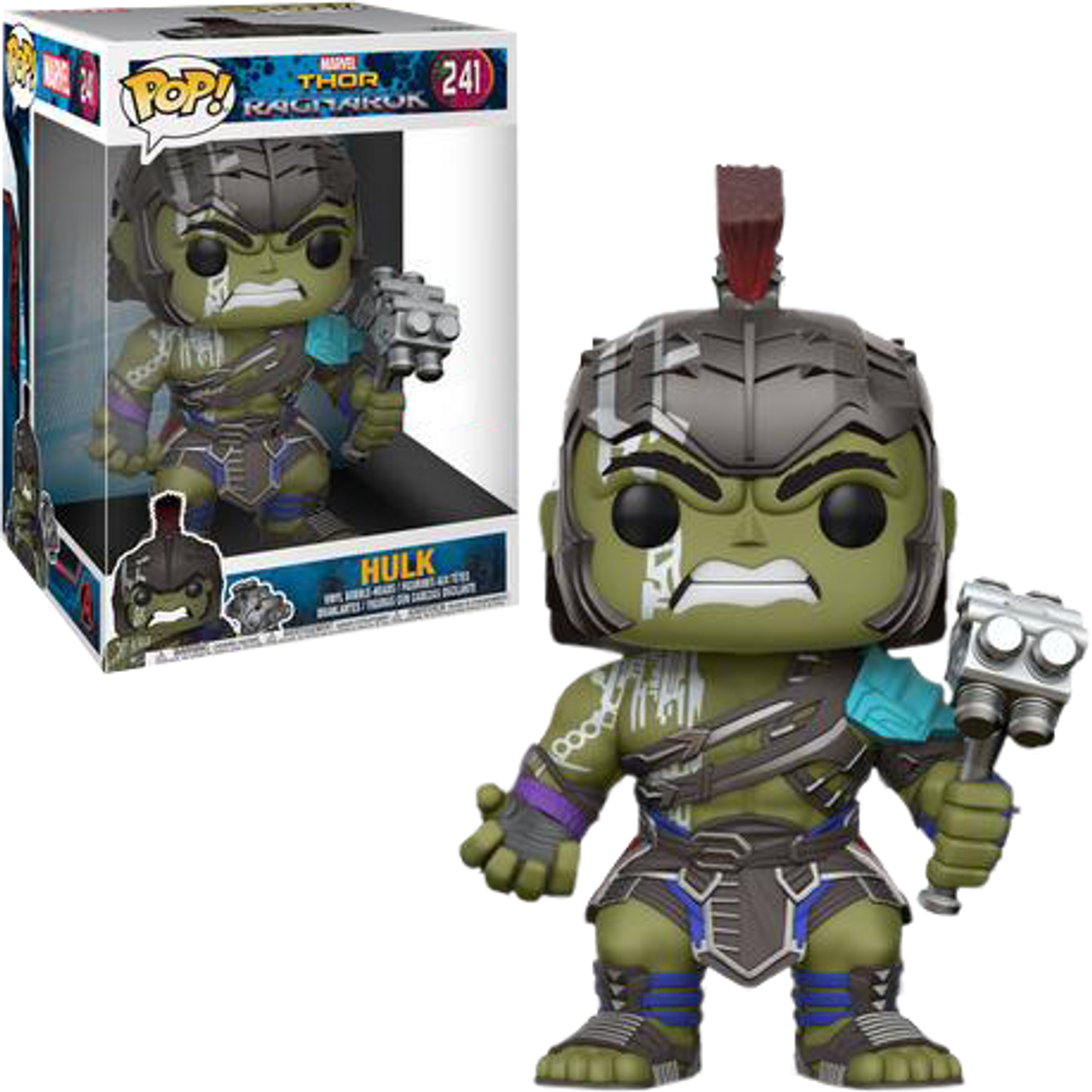 Thor 3 Ragnarok Hulk Gladiator 10 Pop Vinyl Figure