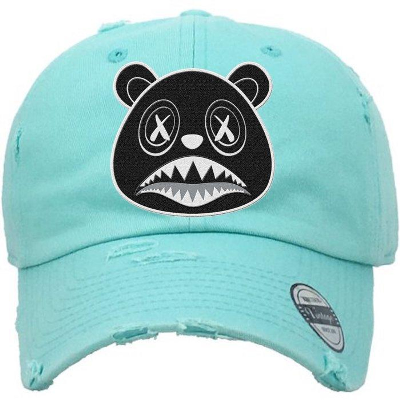 5b46bef7bac BAWS Bear Black Logo Mint Green Dad Hat - KCT Streetwear - OFFICAL ...