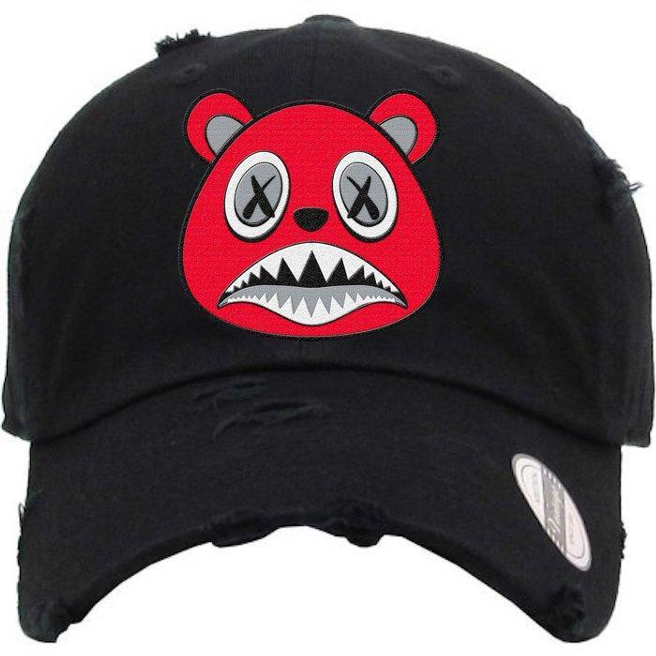 00fb067b BAWS Bear Red Logo Black Dad Hat - KCT Streetwear - OFFICAL NZ ...