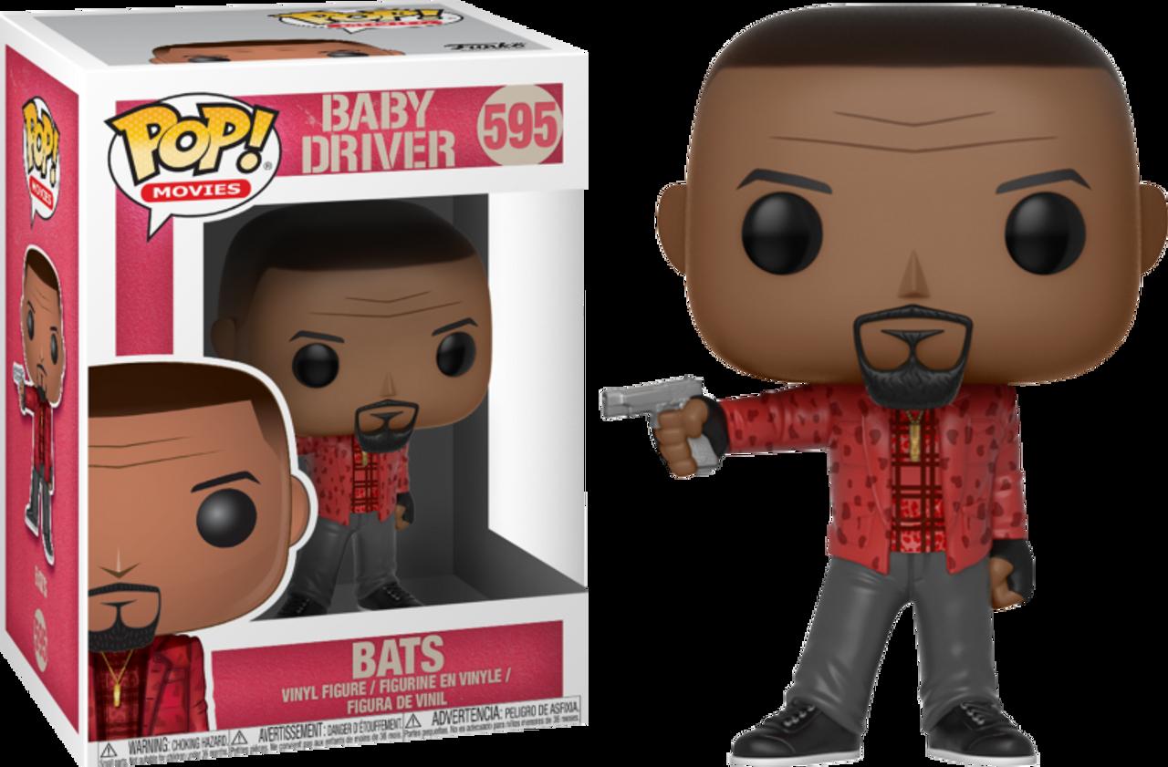 POP Funko Baby Driver Movies Bats Brand New In Box