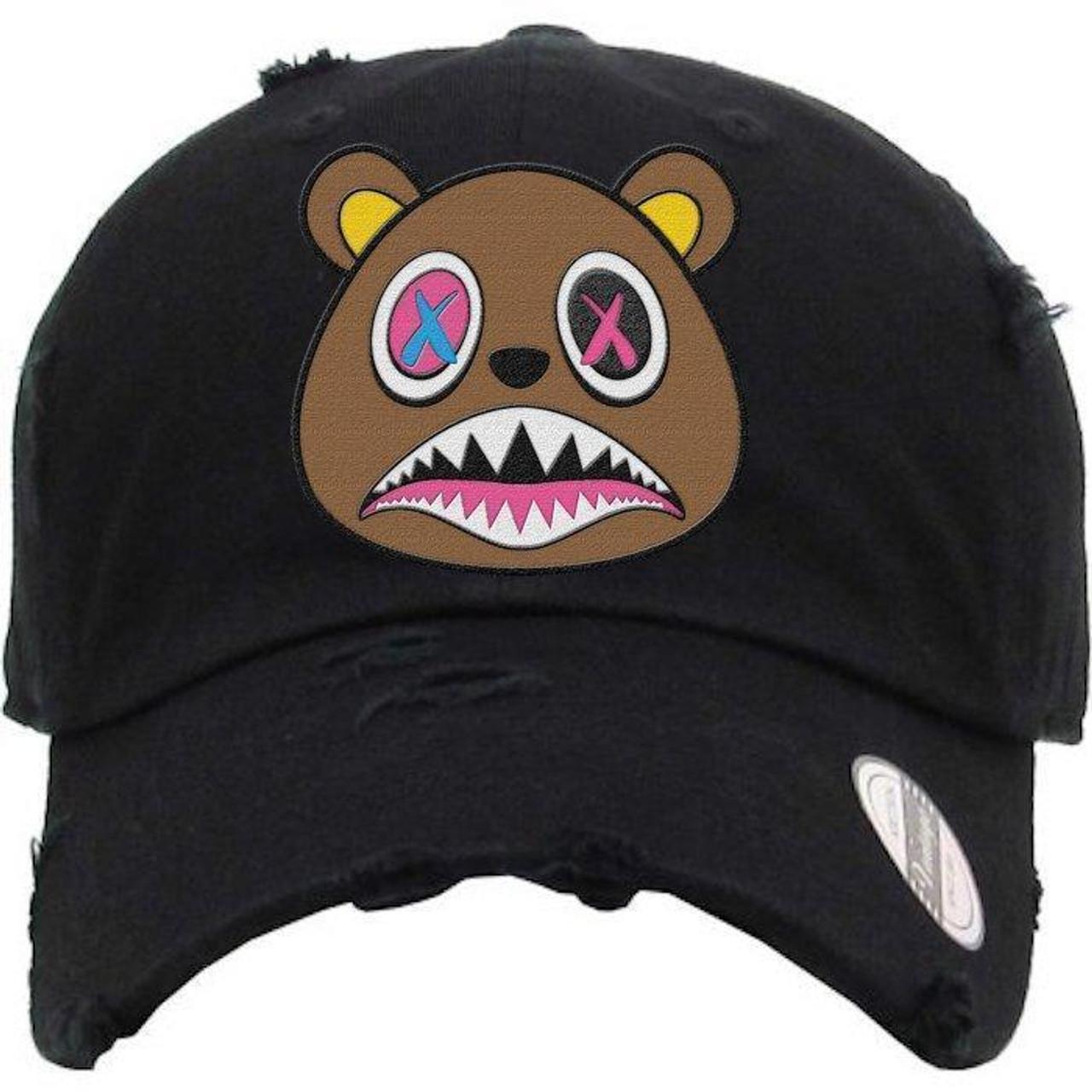 edf5b1d61ea BAWS Brown Bear Black Dad Hat - KCT Streetwear - OFFICAL NZ ...