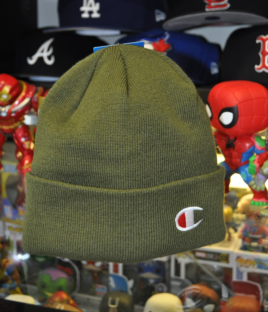 da7db2d6af172 Champion Beanie Green - Authentic Champion Clothing now at KCT ...