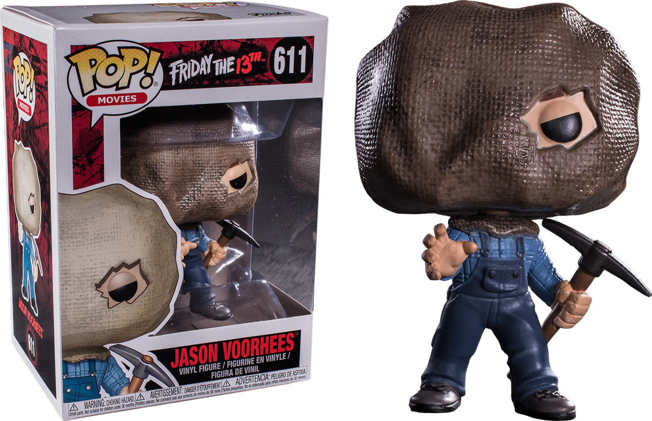 POP Film 01 Friday The 13TH Jason Voorhees Figura in vinile
