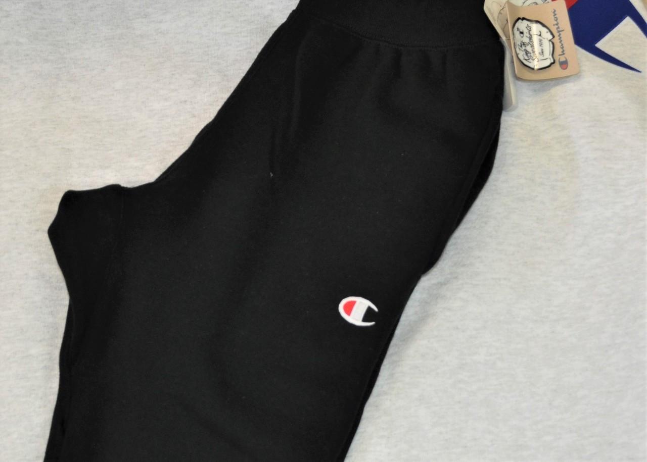 4bb74bdcbc9 Champion Black Tracksuit Pants - Authentic Champion Clothing now ...