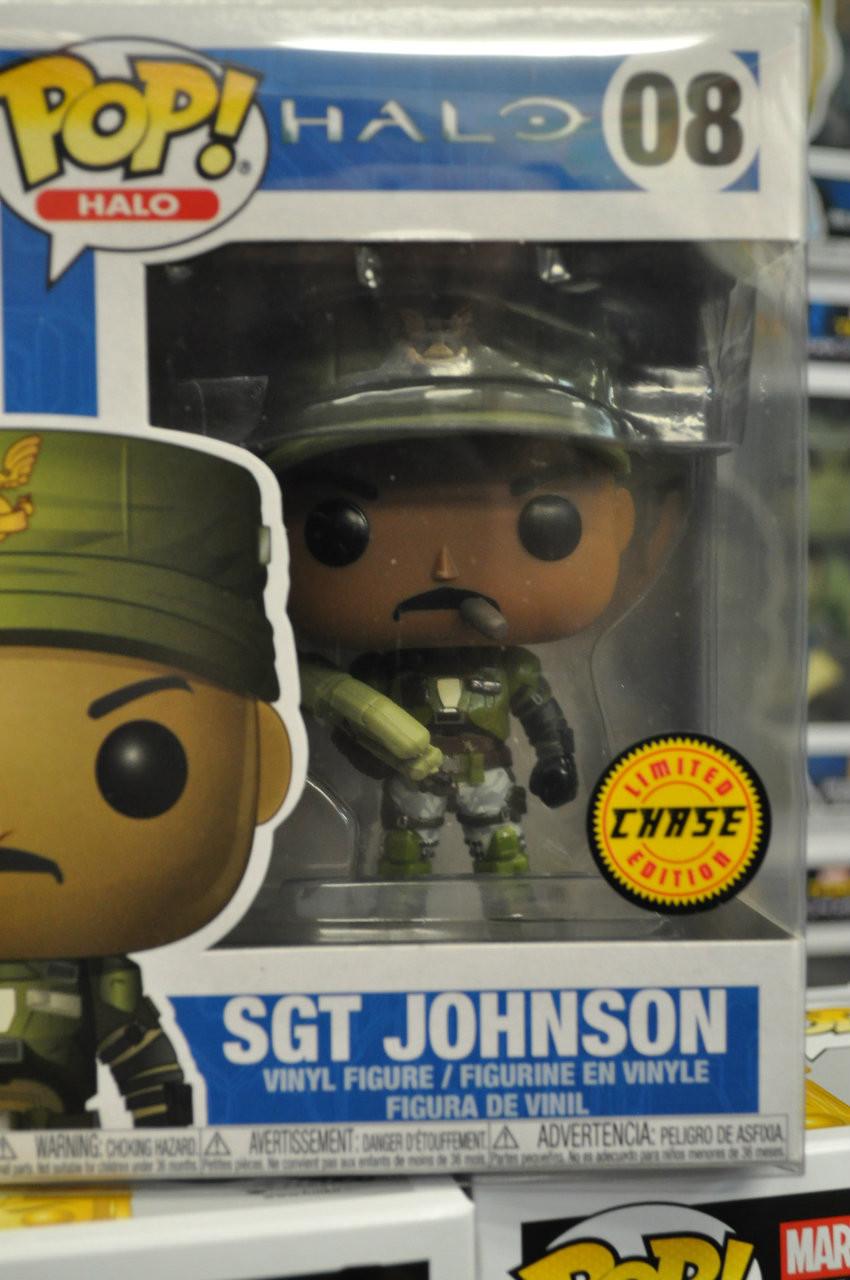 Figuras accion Johnson Funko Pop GAMES Halo-Sgt