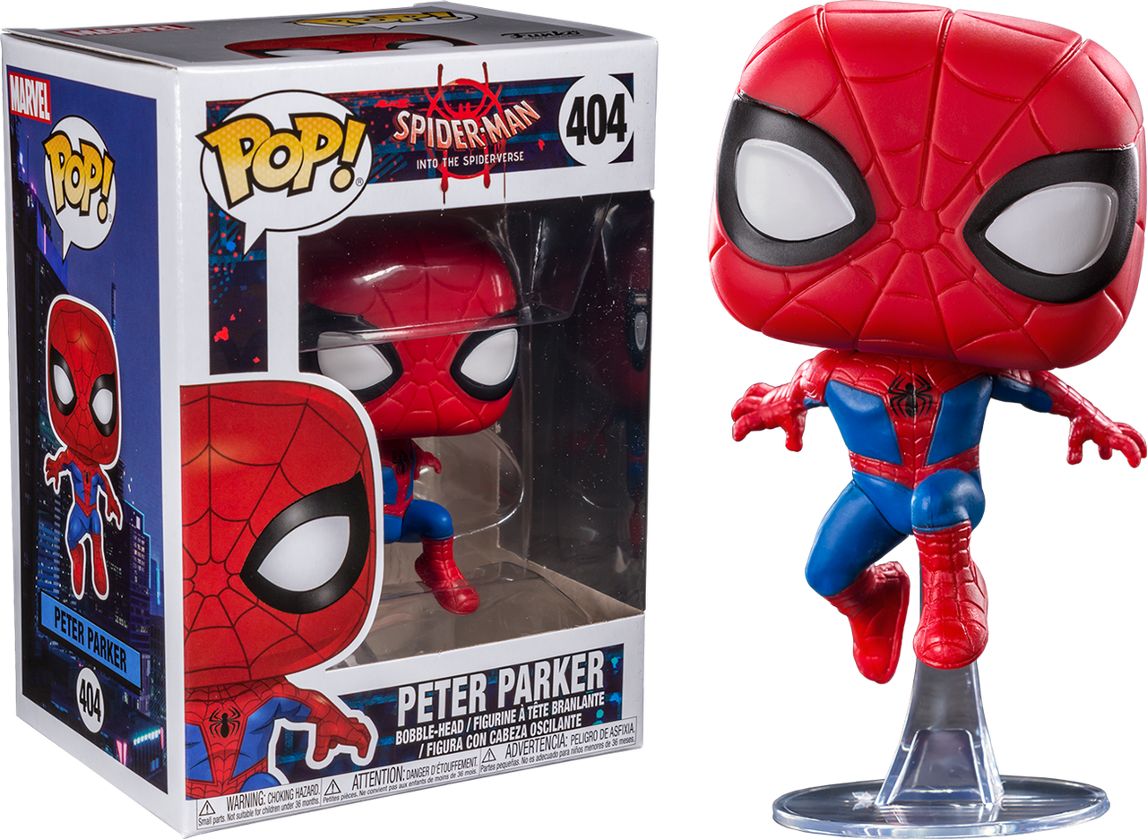 Funko Pocket Pop Keychain Miles Morales Spider-Man into the Spider-Verse