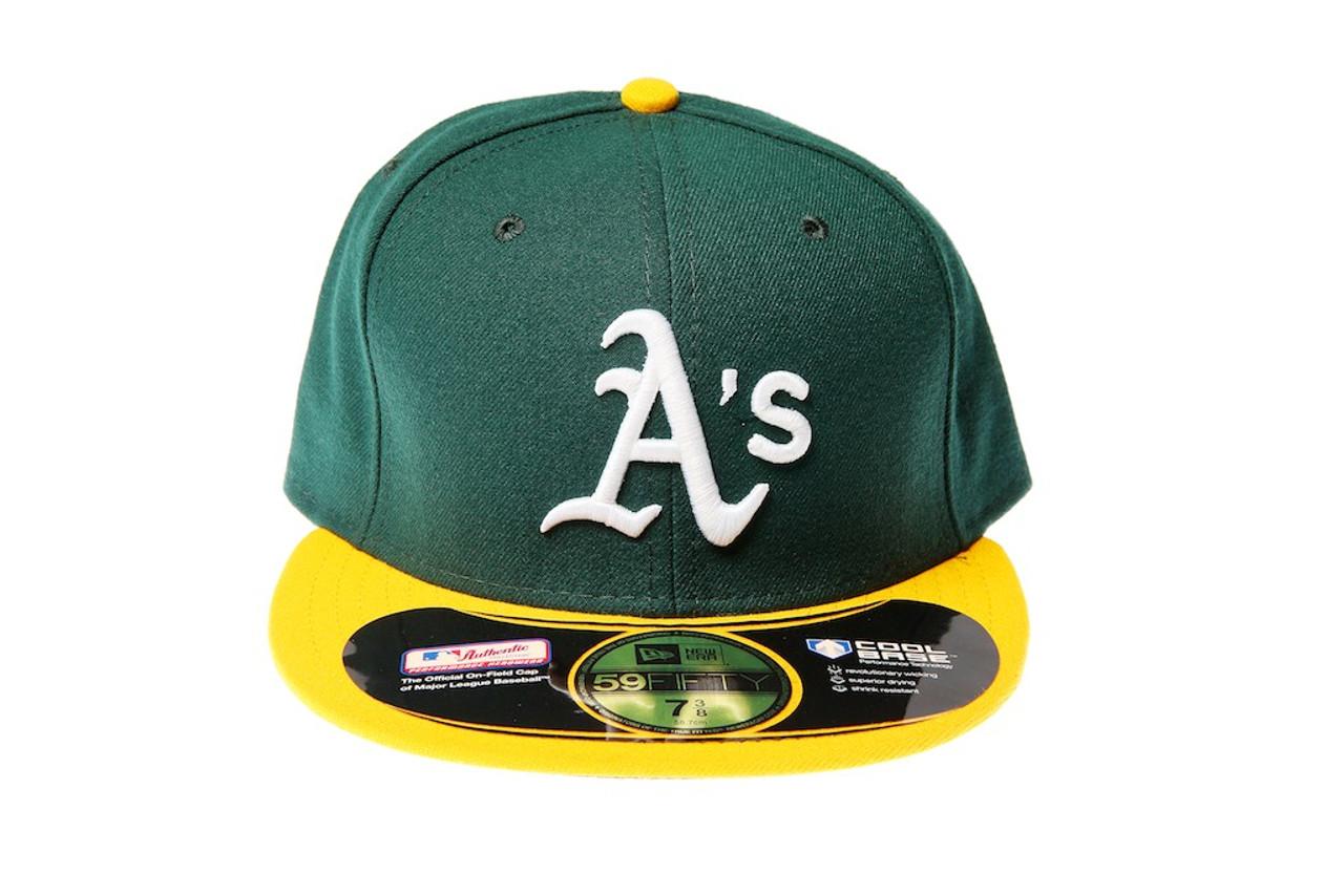 753c08b45b7 Oakland Athletics New Era 59FIFTY Fitted Cap - KCT Streetwear New ...