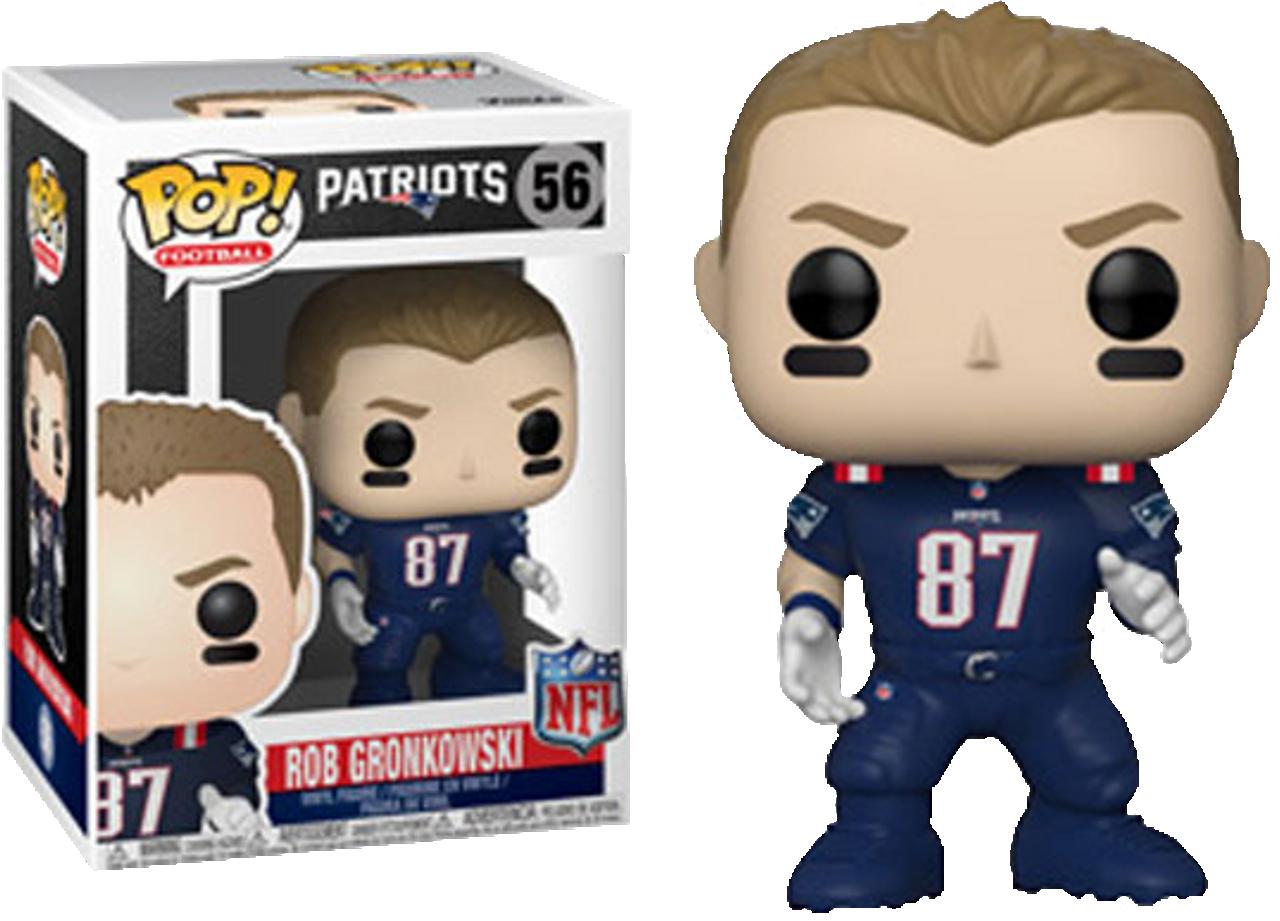 official photos 3adea 0f1ea NFL Football - Rob Gronkowski New England Patriots Color ...