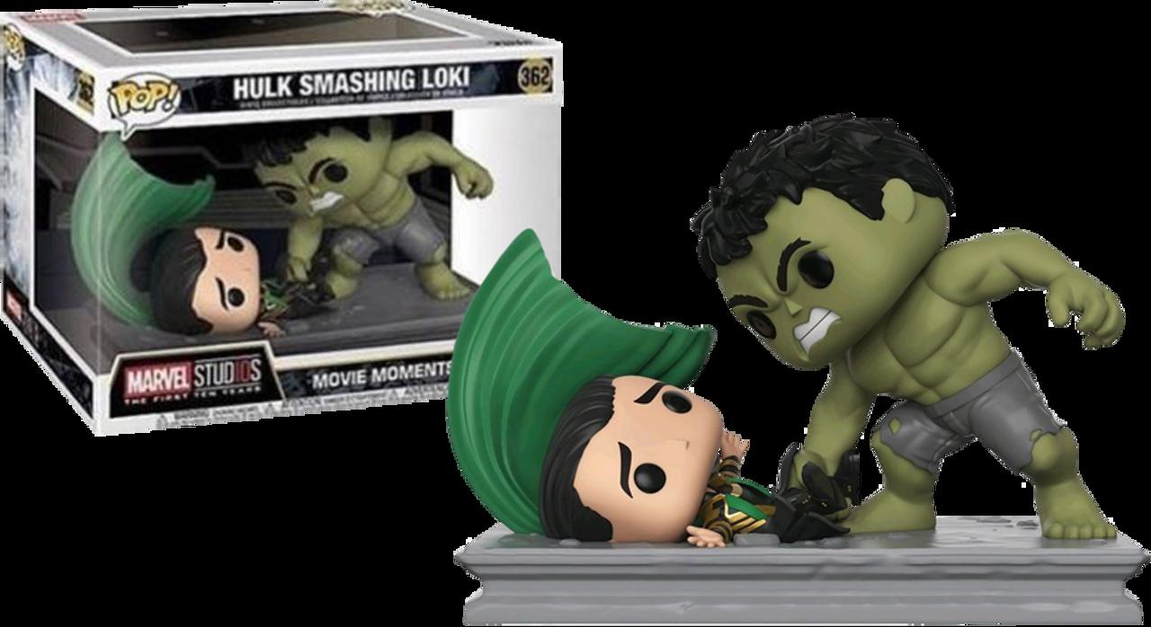 Marvel Studios The First Ten Years Hulk Smashing Loki