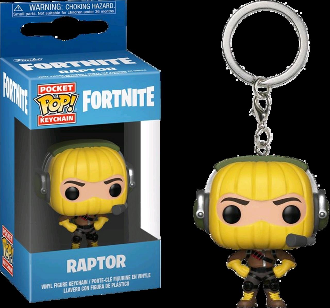 Fortnite Raptor Pocket Pop Vinyl Keychain