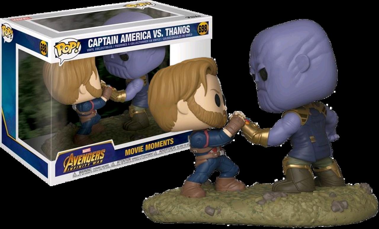 3031e60457f Avengers 3  Infinity War - Captain America vs Thanos Movie Moments ...