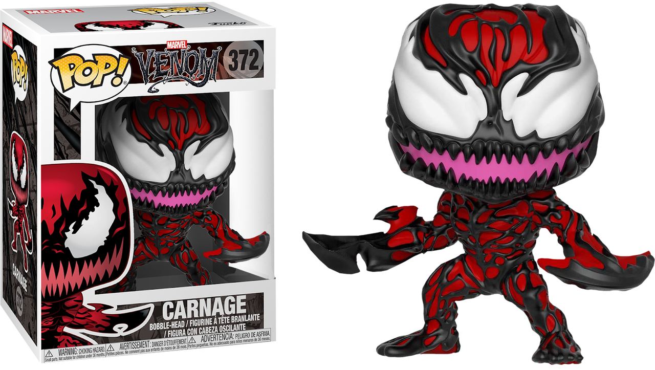 1360b0a8af3 Venom - Carnage with Axes US Exclusive Pop! Vinyl Figure