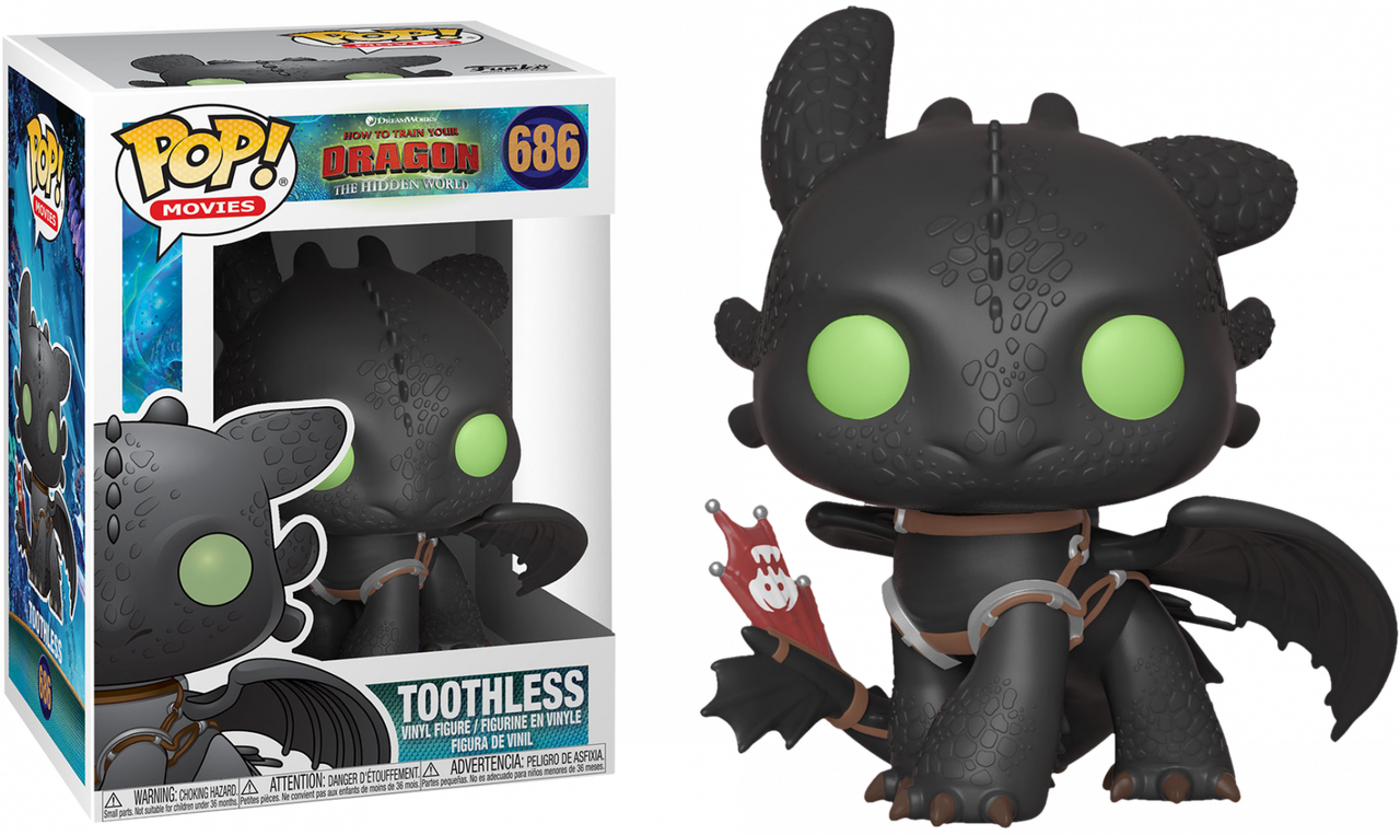 How To Train Your Dragon 3 The Hidden World Toothless