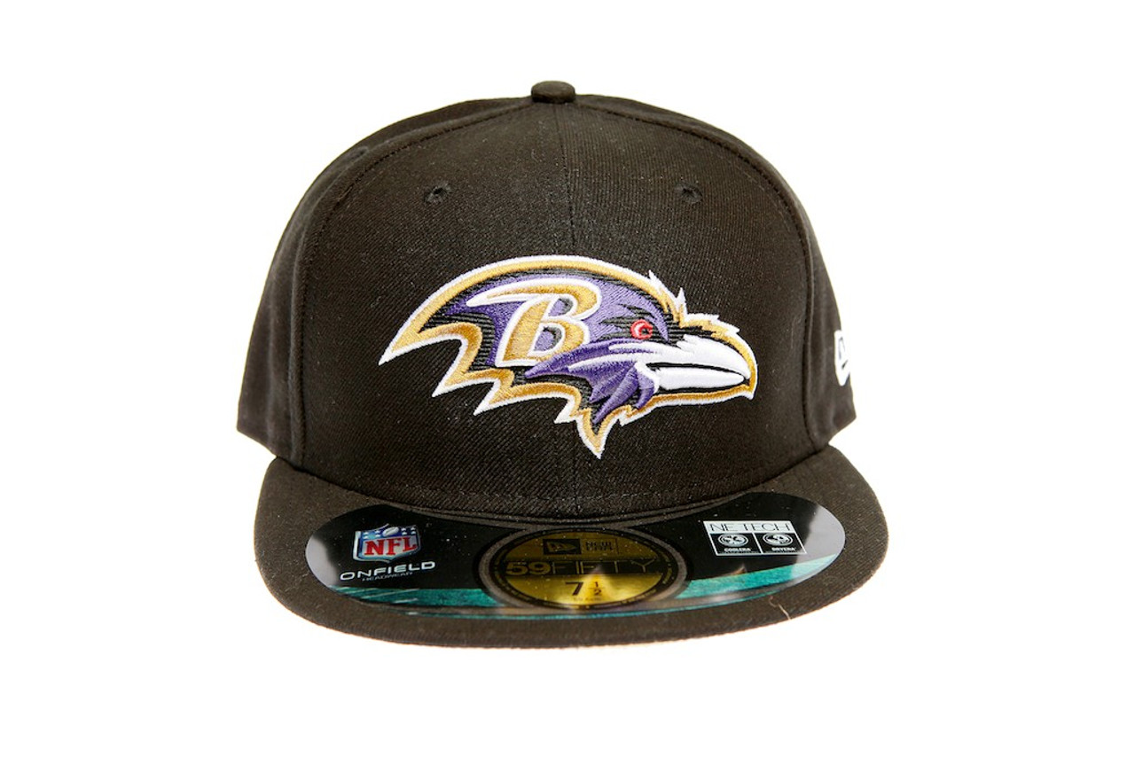 c5df25a40a8 Baltimore Ravens Fitted Cap - KCT Streetwear New Zealand