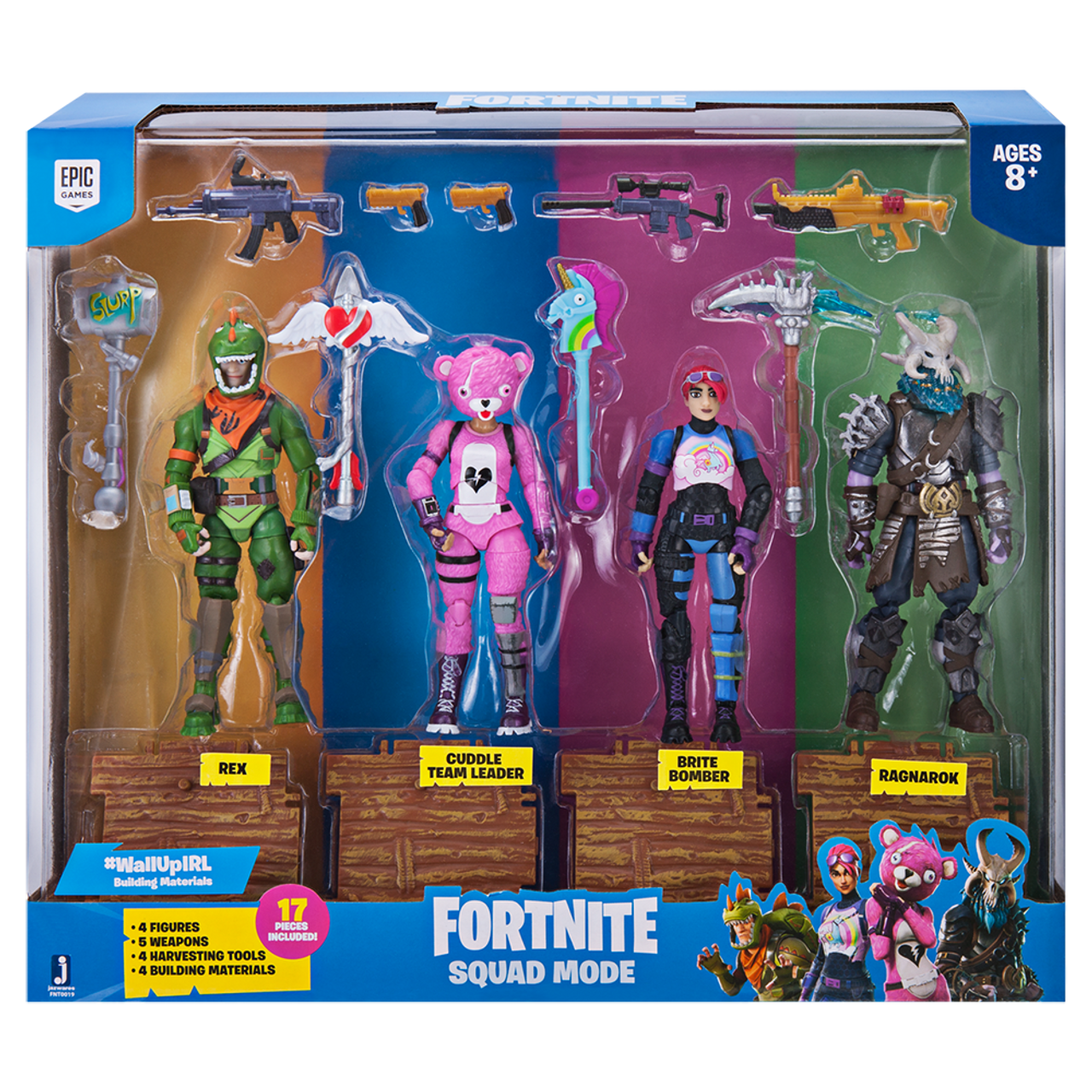 FORTNITE SOLO MODE CORE ACTION FIGURE DRIFT NEW EPIC GAMES Loot Llama