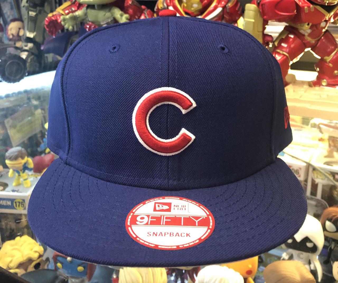 08b98f2fbd2 Chicago Cubs - Blue New Era 9Fifty MLB Snapback Hat