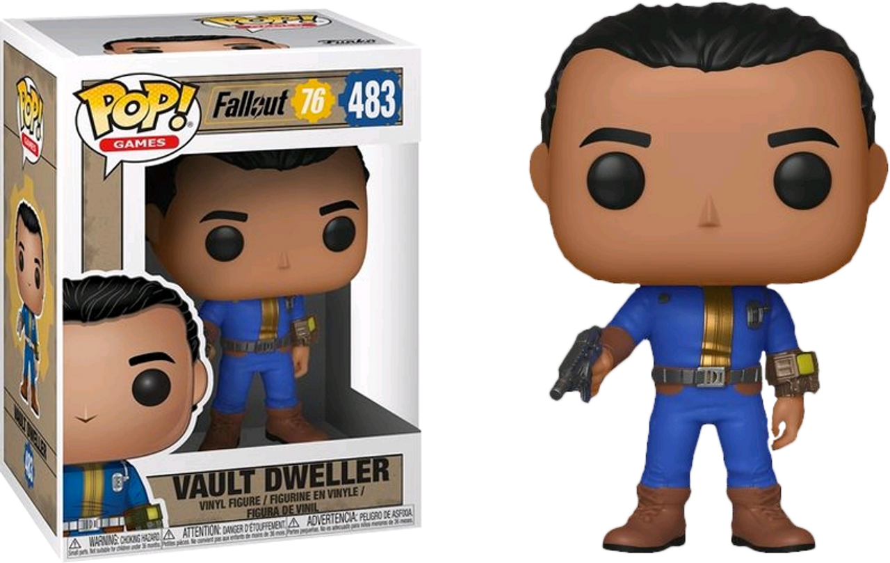 Male Vault Dweller Brand New In Box Funko Pop Games: Fallout 76