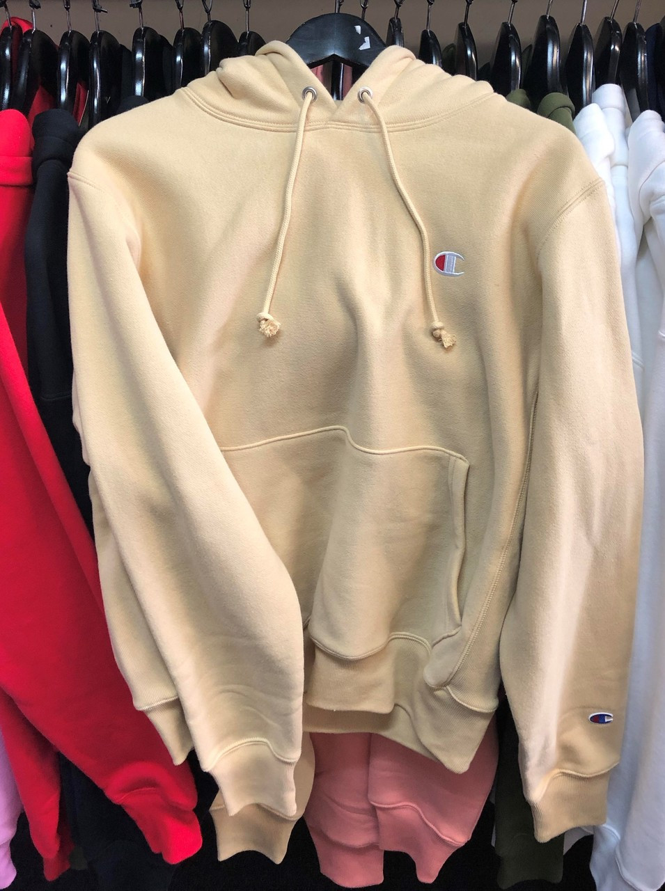Champion Pullover Weave Authentic Reverse Wheat Hoodie Jersey SzMUVp