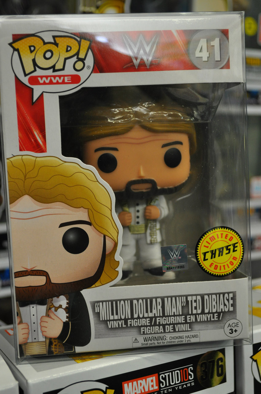 "5d0072e443e WWE - ""Million Dollar Man"" Ted DiBiase Chase Pop! Vinyl Figure"