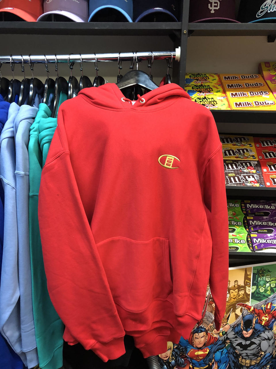 599d1c84b7b Champion Reverse Weave 100 years Red Pullover Jersey