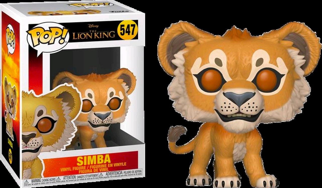 The Lion King 2019 Simba Pop Vinyl Figure